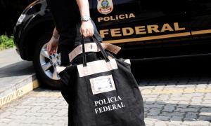 Polícia Federal na captura de rackers com a operação
