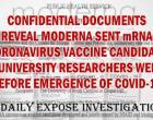 Documentos confidenciais revelam que Moderna enviou mRNA candidato a vacina contra coronavírus para pesquisadores da universidade semanas antes do surgimento de Covid-19