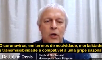 Covid: Não há emergência, a pandemia é uma farsa e a vacina poderá mudar seu DNA