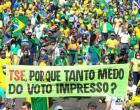 SHOW DA DEMOCRACIA - Em todo o país, o povo demostra de forma pacífica, o desejo por eleições limpas