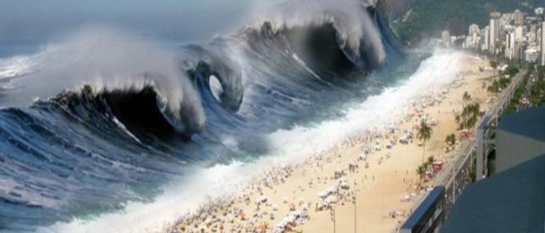 LITORAL BRASILEIRO EM RISCO: Vulcão capaz de gerar tsunami no Atlântico entra em alerta amarelo
