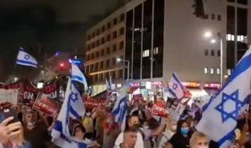 """Milhares de israelenses se levantam contra a nova ordem mundial: """"NUNCA seremos escravizados pelos nazistas de novo"""""""
