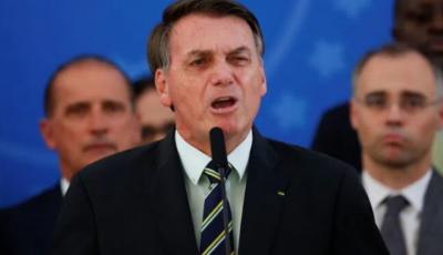 Presidente Jair Bolsonaro: passaportes para vacinas têm tudo a ver com controle populacional