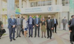 Primeira escola municipal cívico-militar do Rio de Janeiro é inaugurada