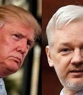 Apoiadores de Trump negam ter oferecido perdão a Assange em troca da fonte que vazou os e-mails do DNC.