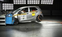 O Kia Picanto, um dos carros mais vendidos da Colômbia, 'rachou' em todos os testes de segurança do Latin NCAP