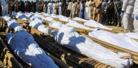 Grupo Jihadistas assassinou 110 civis na Nigéria.