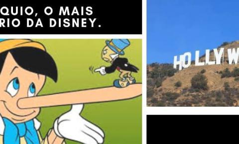 Pinóquio, o mais sombrio da Disney.