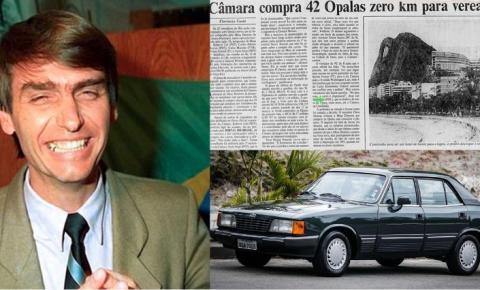 Passeando pelas redes sociais - Jair Bolsonaro 1990