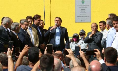 Bolsonaro  reinaugura a Torre do Relógio no CEAGESP e deixa claro: privatização aqui não.