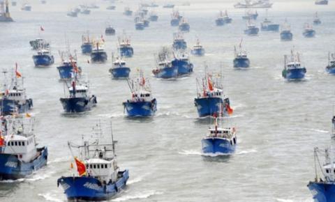 China propõe controlar toda a pesca no litoral brasileiro.