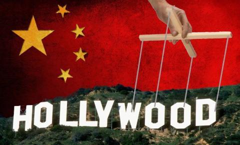 Hollywood refém do PCC chinês.  Produzido em Hollywood, Censurado por Pequim.