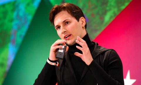 Durov, criador do Telegram pede a seus seguidores que deletem o whatsApp.