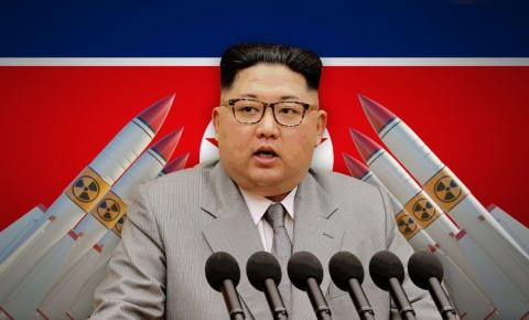 Kim Jong Un reforça seu arsenal de guerra nuclear.