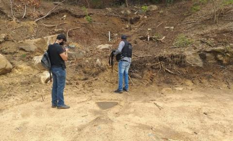 Polícia Civil encontra cemitério clandestino no Rio de Janeiro
