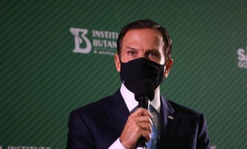 Doria critica a inclusão de prefeitos e governadores na CPI da Covid-19