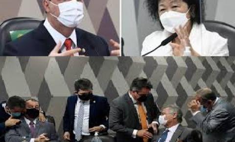 Assessora da Dra. Nise Yamaguchi Irá Processar Senadores Omar Aziz e Renan Calheiros