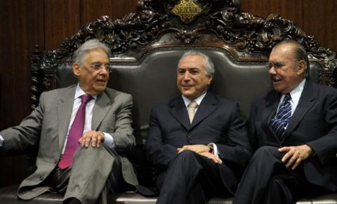 FHC, Temer e Sarney se reunirão para debater implementação do semipresidencialismo no Brasil