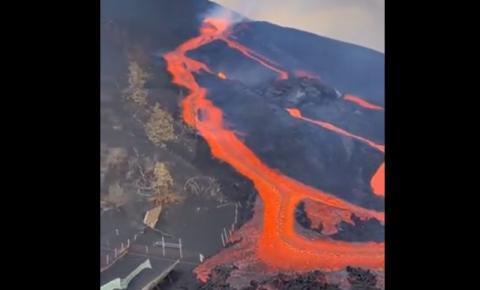 Atualização sobre a erupção de La Palma: Uma pressão enorme está se acumulando sob o vulcão enquanto o solo infla 17 cm em 24 horas - Possível explosão violenta nos próximos dias