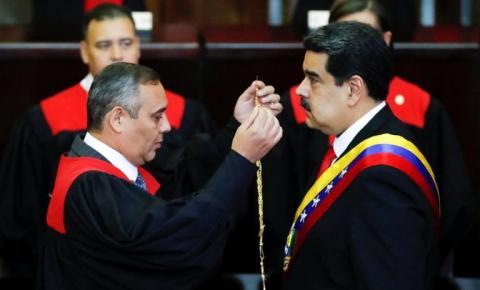 EUA oferece R$ 25 milhões por líder do Supremo venezuelano