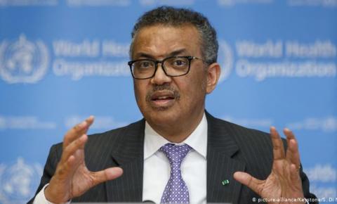 Presidente da OMS apoia reabertura de economias