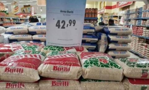 Governo Bolsonaro zera alíquota de importação do arroz
