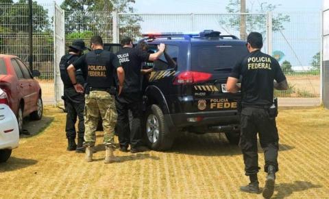Polícia Federal cumpre 14 mandados de prisão temporária e busca e apreensão em Manaus