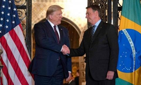 Bolsonaro e Trump fecham acordo em que ambos os países se beneficiam.
