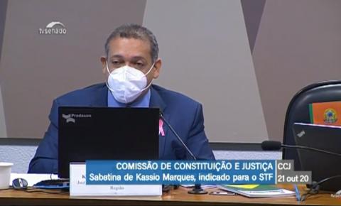 Kassio Nunes fala de independência de Poderes e ativismo judicial em sabatina Senado