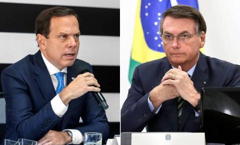 ''Nanicos projetos de ditadores'', diz Bolsonaro sobre Dória